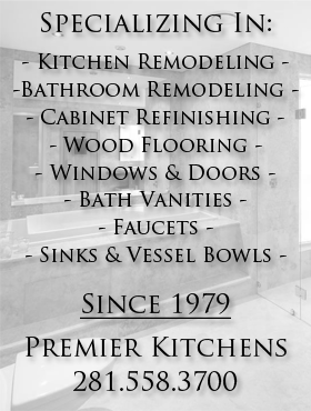 Kitchen and Bath Remodeling - Katy Texas